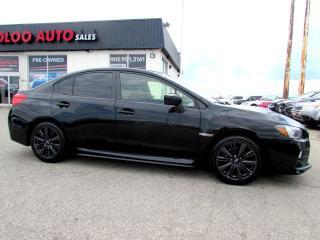 Used 2015 Subaru Impreza WRX WRX PREMIUM TURBO AWD CAMERA 6 SPEED CERTIFIED WAR for sale in Milton, ON