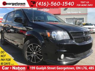 Used 2017 Dodge Grand Caravan GT| PWR DOORS | LEATHER | CAPTAINS | CAM for sale in Georgetown, ON