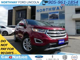 Used 2016 Ford Edge SEL | NAV | REAR CAMERA | PANO ROOF | TOW PKG | for sale in Brantford, ON