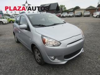 Used 2014 Mitsubishi Mirage SE for sale in Beauport, QC