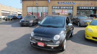 Used 2012 Fiat 500 SPORT/LEATHER/SUNROOF for sale in North York, ON