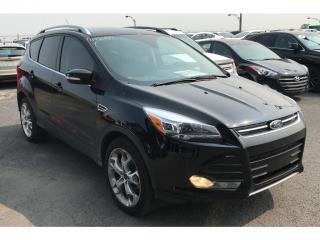 Used 2016 Ford Escape Titanium Cuir Toit for sale in St-constant, QC
