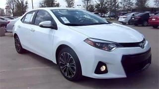 Used 2014 Toyota Corolla S-SPORT-AUTO-SUNROOF-CAMERA-ONLY 52KM for sale in York, ON