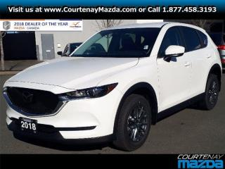 New 2018 Mazda CX-5 GX AWD at for sale in Courtenay, BC
