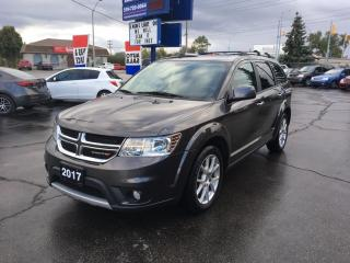 Used 2017 Dodge Journey GT AWD/Leather for sale in Brantford, ON