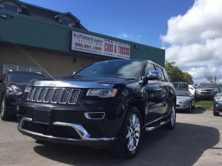 Used 2015 Jeep Grand Cherokee Summit DIESEL!! SUMMIT!! FULLY LOADED!! ONE OWNER DEALER DRIVEN!!! for sale in Bolton, ON