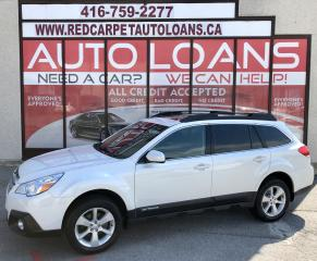 Used 2014 Subaru Outback 2.5i Convenience Package PREMIUM-ALL CREDIT ACCEPTED for sale in Scarborough, ON