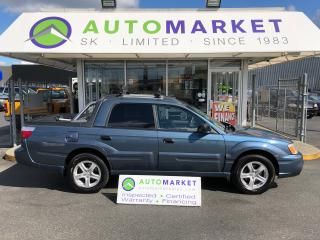 Used 2005 Subaru Baja RARE! FINANCING- YOU WORK/YOU DRIVE! for sale in Langley, BC