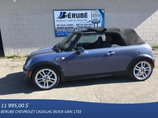 Used 2007 MINI Cooper CONVERTIBLE S for sale in Rivière-du-loup, QC