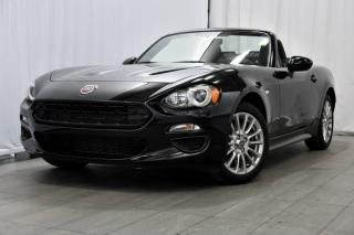 Used 2017 Fiat 124 Spider CLASSICA+DÉCAPOTABLE+92$/SEM* for sale in Laval, QC