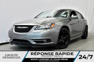 Used 2013 Chrysler 200 S + CUIR + TOIT + ÉCRAN 5PO **BEAU LOOK* for sale in Laval, QC