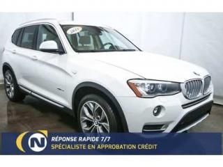 Used 2015 BMW X3 Xdrive28i Toit Pano for sale in St-Jean-Sur-Richelieu, QC