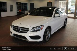 Used 2015 Mercedes-Benz C-Class C400 Awd, Toit Pano for sale in Québec, QC