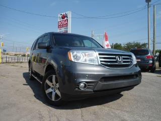 Used 2012 Honda Pilot AUTO 4WD BACKUP CAMERA B-TOOTH,GPS NAV,DVD,8 P for sale in Oakville, ON