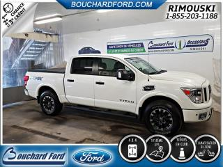 Used 2017 Nissan Titan Pro-4X for sale in Rimouski, QC