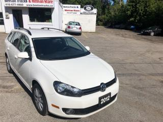Used 2012 Volkswagen Golf Wagon Comfortline for sale in Beeton, ON