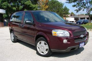 Used 2009 Chevrolet Uplander LS for sale in Mississauga, ON