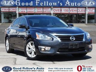 Used 2014 Nissan Altima SL MODEL, LEATHER SEATS, SUNROOF, NAVIGATION for sale in Toronto, ON