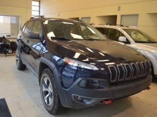 Used 2015 Jeep Cherokee **Trailhawk** - Navigation - Heated Seats for sale in Edmonton, AB