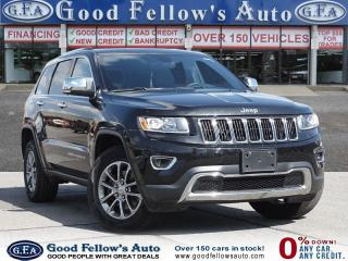Used 2016 Jeep Grand Cherokee LIMITED, LEATHER SEATS, SUNROOF, REARVIEW CAMERA for sale in Toronto, ON