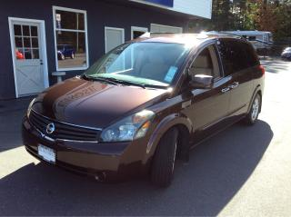 Used 2007 Nissan Quest S for sale in Parksville, BC