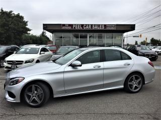 Used 2015 Mercedes-Benz C 300 15 MERCEDES BENZ C300|NAVI|PANOROOF|XEONLIGHTS| for sale in Mississauga, ON