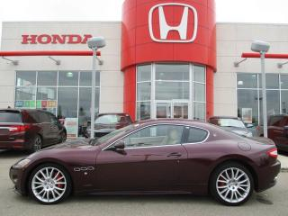 Used 2011 Maserati GranTurismo S Heated Leather Navigation Back Up Sensors for sale in Red Deer, AB