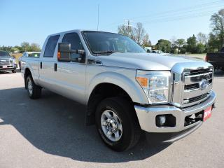 Used 2014 Ford F-250 XLT. Crew. 4X4. 6.2L V8 gas. Loaded for sale in Gorrie, ON