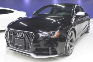 Used 2013 Audi RS 5 ACCIDENT FREE for sale in Oakville, ON