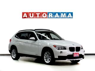 Used 2015 BMW X1 TECH PKG NAVIGATION LEATHER PAN SUNROOF 4WD for sale in Toronto, ON