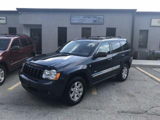 Used 2008 Jeep Grand Cherokee Laredo,LEATHER,SUNROOF,BLUETOOTH,NO ACCIDENTS ! for sale in Burlington, ON