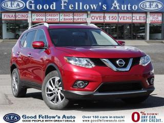 Used 2015 Nissan Rogue SL MODEL, AWD, NAVIGATION, LEATHER SEATS, PAN ROOF for sale in Toronto, ON