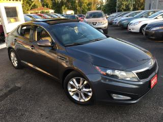 Used 2013 Kia Optima EX LUXURY/ AUTO/ LEATHER/ PANO SUNROOF/ ALLOYS for sale in Scarborough, ON