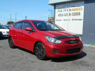 Used 2012 Hyundai Accent ***GLS/ BAS KILO/ AIR CLIMATISÉE*** for sale in Longueuil, QC