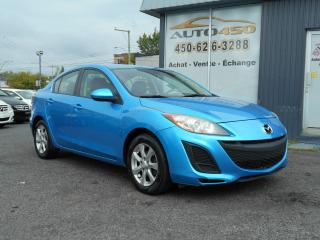 Used 2011 Mazda MAZDA3 ***GS,MAGS,AIR CLIMATISE*** for sale in Longueuil, QC