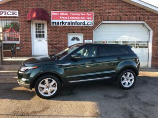 Used 2012 Land Rover Range Rover Evoque Pure Premium AWD Pano Roof Navigation Pwr Liftgate for sale in Bowmanville, ON