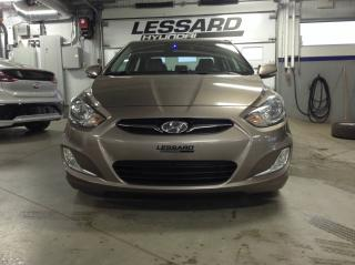 Used 2013 Hyundai Accent Berline 4 pts tans automatic gls for sale in Québec, QC