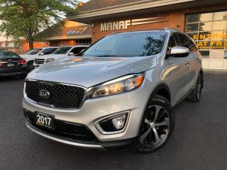 Used 2017 Kia Sorento EX+ V6 7-Seater leather Pano Low KM Certified* for sale in Concord, ON