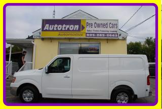 Used 2012 Nissan NV 2500 3/4 Ton Low Cargo Van, Loaded for sale in Woodbridge, ON