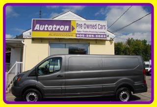 Used 2015 Ford Transit 350, 1 Ton Low Cargo Van, Loaded, Hitch for sale in Woodbridge, ON