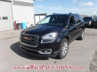 Used 2016 GMC Acadia SLT1 4D Utility AWD 3.6L for sale in Calgary, AB