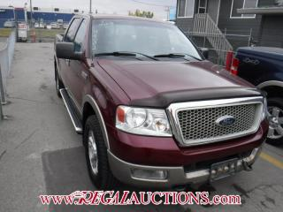 Used 2004 Ford F-150 LARIAT 4D 4WD for sale in Calgary, AB