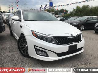Used 2015 Kia Optima EX Luxury | NAV | LEATHER | ROOF | CAM for sale in London, ON