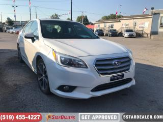 Used 2015 Subaru Legacy 3.6R Limited Package | NAV | LEATHER | ROOF for sale in London, ON