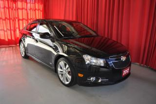 Used 2012 Chevrolet Cruze LT Turbo for sale in Listowel, ON