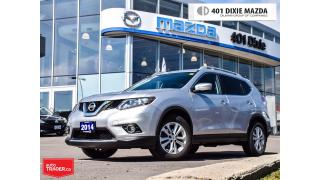 Used 2014 Nissan Rogue SV,NO ACCIDENTS, PANORAMIC ROOF, FOG LIGHTS for sale in Mississauga, ON