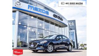 Used 2017 Mazda MAZDA3 SE, 1.9% FINANCE AVAILABLE, NAVIGATION READY for sale in Mississauga, ON
