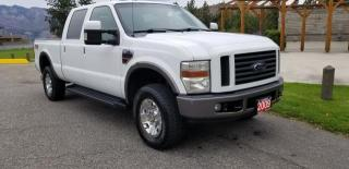 Used 2008 Ford F-350 SD Lariat Crew Cab 4WD for sale in West Kelowna, BC