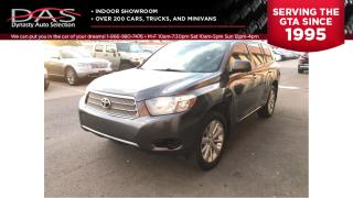 Used 2010 Toyota Highlander HYBRID 7 PASS/REAR CAMERA/LEATHER for sale in North York, ON