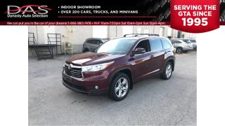 Used 2014 Toyota Highlander LIMITED NAVIGATION/PANORAMIC ROOF/7 PASS for sale in North York, ON